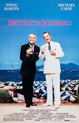 Film poster for Dirty Rotten Scoundrels - Copy...