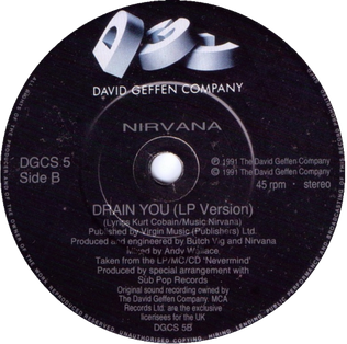 Drain You Song by Nirvana