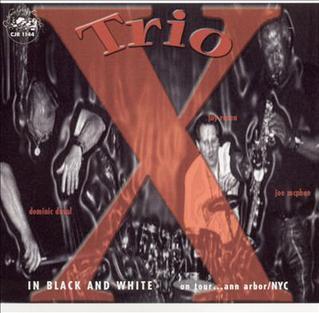 <i>In Black and White</i> (Trio X album) 2002 live album by Trio X
