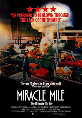 Image of Miracle Mile Movie Poster