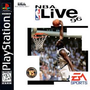 <i>NBA Live 96</i> 1995 basketball video game