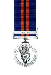New Zealand General Service Medal 1992 (Warlike)