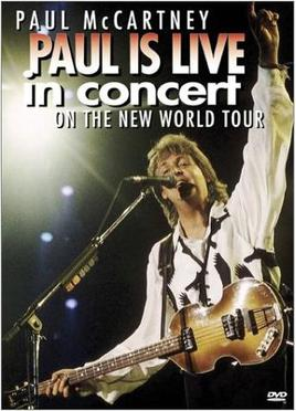Paul Is Live - The New World Tour artwork