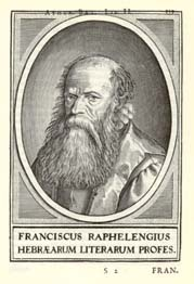 Franciscus Raphelengius Dutch printer