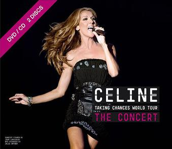 Celine Dion Taking Chances Tour Book