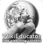 Wikieducator logo.