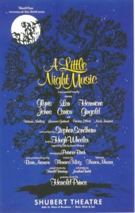 <i>A Little Night Music</i> musical