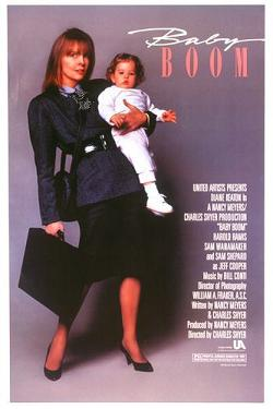 Film poster for Baby Boom - Copyright 1987, Un...