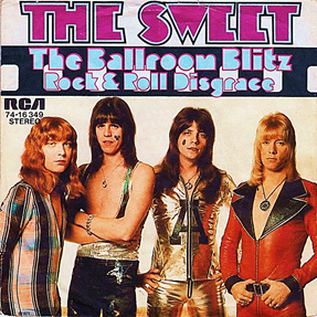 The Ballroom Blitz 1973 song by The Sweet
