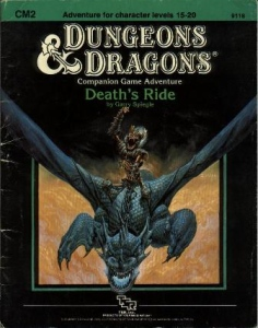 Cover of CM2 Death's Ride