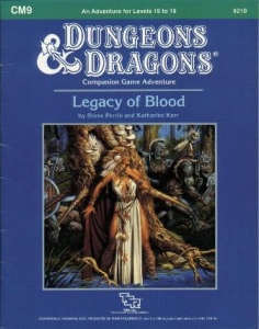 Cover of CM9 Legacy of Blood