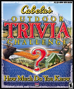 """Cabela's Outdoor Trivia Challenge"" Cover Art"