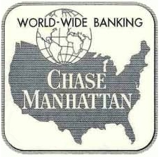 The logo used by Chase following the merger with the Manhattan Bank in 1954 Chase logo pre historical.jpg
