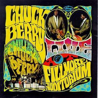 Live At The Fillmore Auditorium Chuck Berry Album