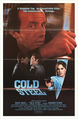 Sharon Stone Woman Of The Year Cold_Steel_film_poster