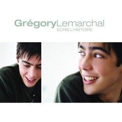 Cubra la imagen de la canción Écris lhistoire por Grégory Lemarchal