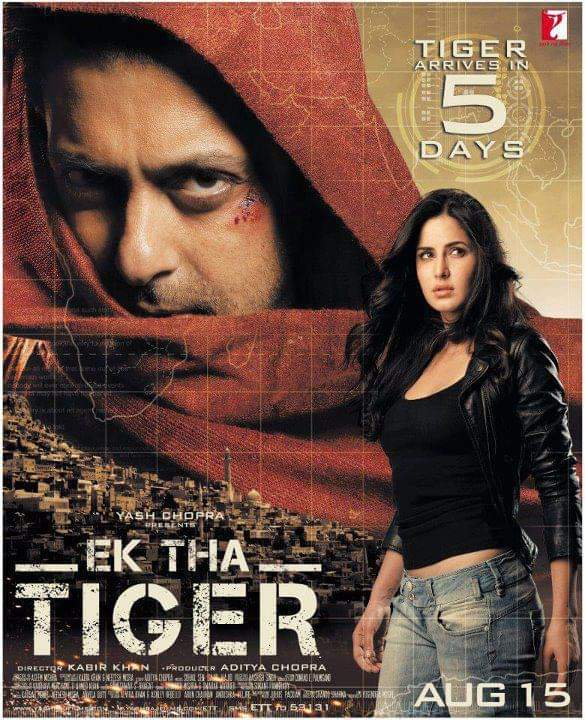 File:Ek Tha Tiger theatrical poster.jpg