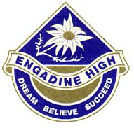 Engadine High School Badge