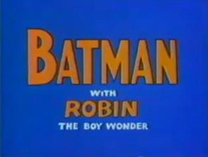 <i>The Adventures of Batman</i>