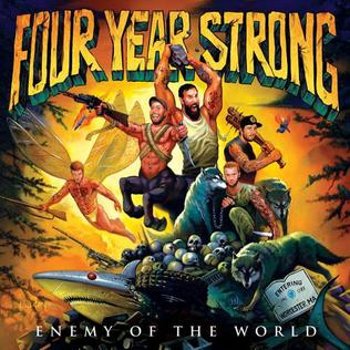 <i>Enemy of the World</i> 2010 studio album by Four Year Strong
