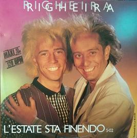 Lestate sta finendo 1985 single by Righeira