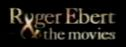 On-screen graphic from Roger Ebert & the Movies.