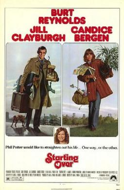 Film poster for Starting Over - Copyright 1979...