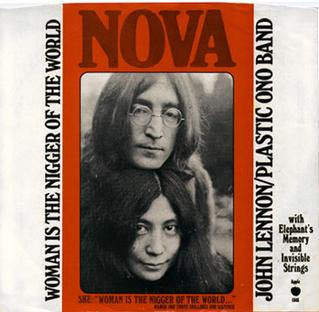 John lennon woman single
