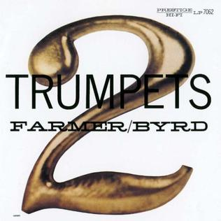 <i>2 Trumpets</i> 1957 studio album by Art Farmer and Donald Byrd