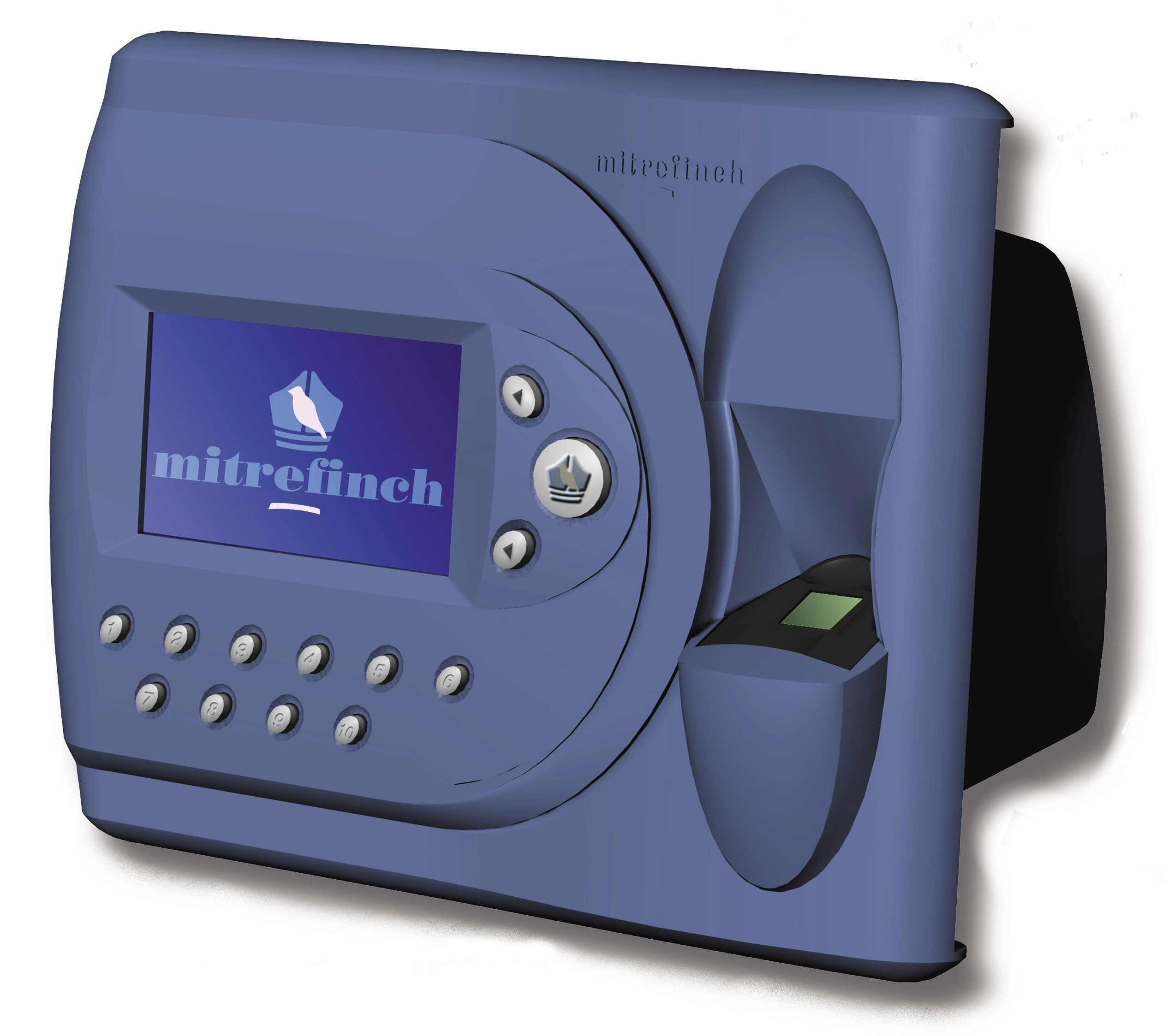 clocking in machine fingerprint