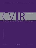 CardioVascular and Interventional Radiology, journal cover 2016.jpg
