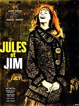 Jules et Jim (1962) movie poster