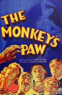 <i>The Monkeys Paw</i> (1933 film) 1933 film by Ernest B. Schoedsack