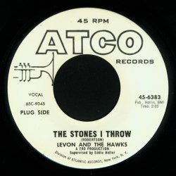 The Stones I Throw single by The Band
