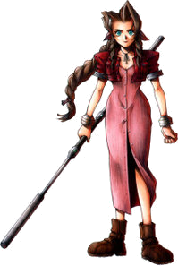 Aerith Gainsborough Character in Final Fantasy