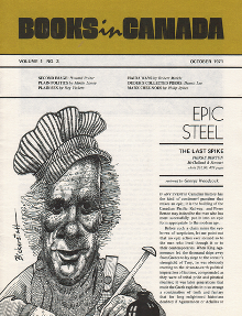 Books in Canada cover October 1971.png
