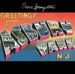 <i>Greetings from Asbury Park, N.J.</i> 1973 studio album by Bruce Springsteen