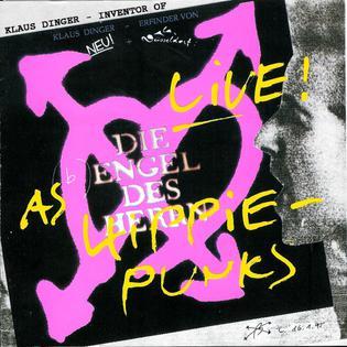 <i>Live as Hippie-Punks</i> live album by Die Engel des Herrn