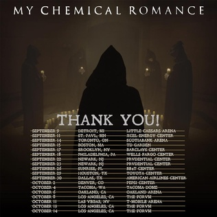 My Chemical Romance Reunion Tour Concert tour by My Chemical Romance