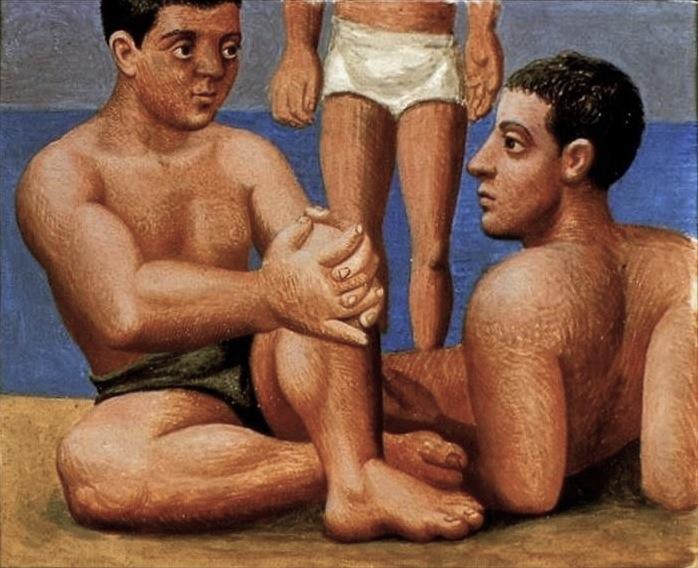 File:Pablo Picasso, 1921-22, Les baigneurs.jpg
