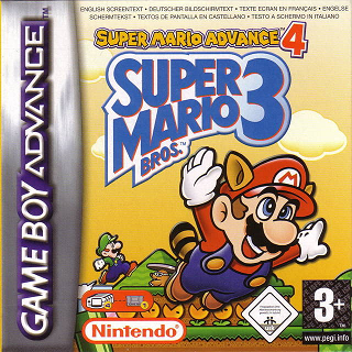 <i>Super Mario Advance 4: Super Mario Bros. 3</i> 2003 platform video game