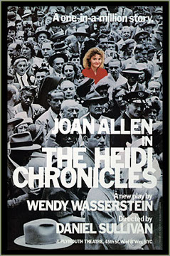 an analysis of the taken for granted women rights in the heidi chronicles by wendy wasserstein Picking up many of the same threads of the heidi chronicles, wendy wasserstein's pulitzer prize-winning drama about a female art historian struggling to.