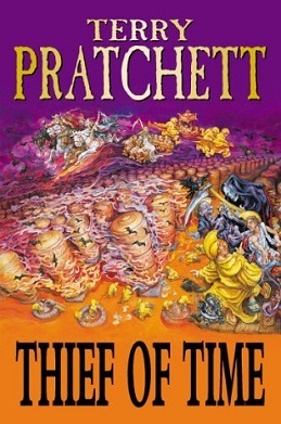 <i>Thief of Time</i> book by Terry Pratchett