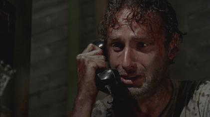 Image result for rick speaks to phone