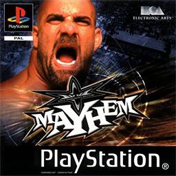 wcw mayhem video game wikipedia