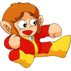 Picture of a game: Alex Kidd