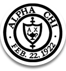 Alpha Chi National Honor Society Shield.png