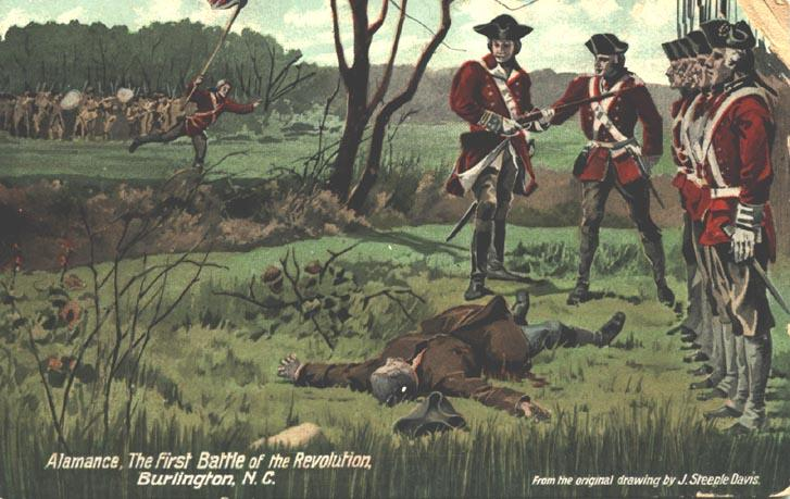 a history of the battle of alemance in the war of regulation The battle of alamance was the final battle of the war of the regulation , a rebellion in colonial north carolina over issues of taxation and local control some.