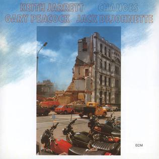 <i>Changes</i> (Keith Jarrett album) 1984 studio album by Keith Jarrett