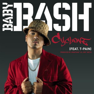 Cyclone (song) 2007 single by Baby Bash featuring T-Pain & Mickaël Zibi